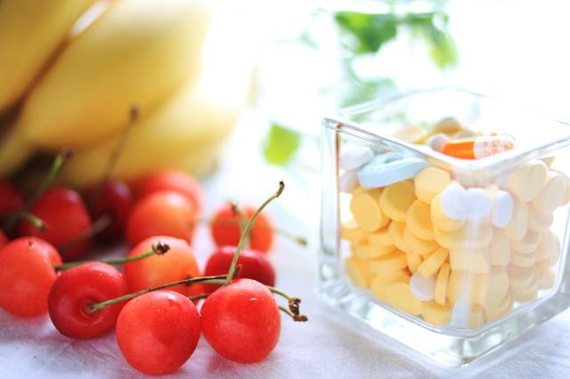 フルーツとサプリメント