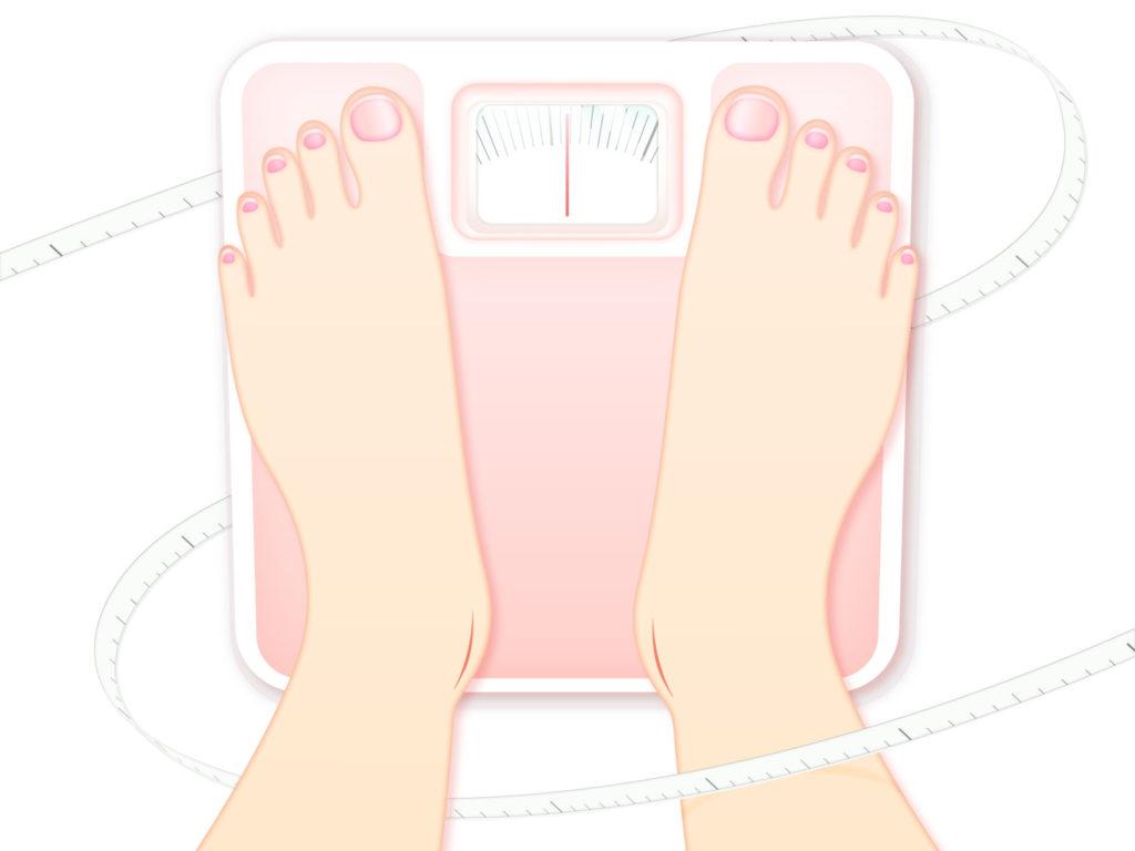 体重計とダイエットプラン