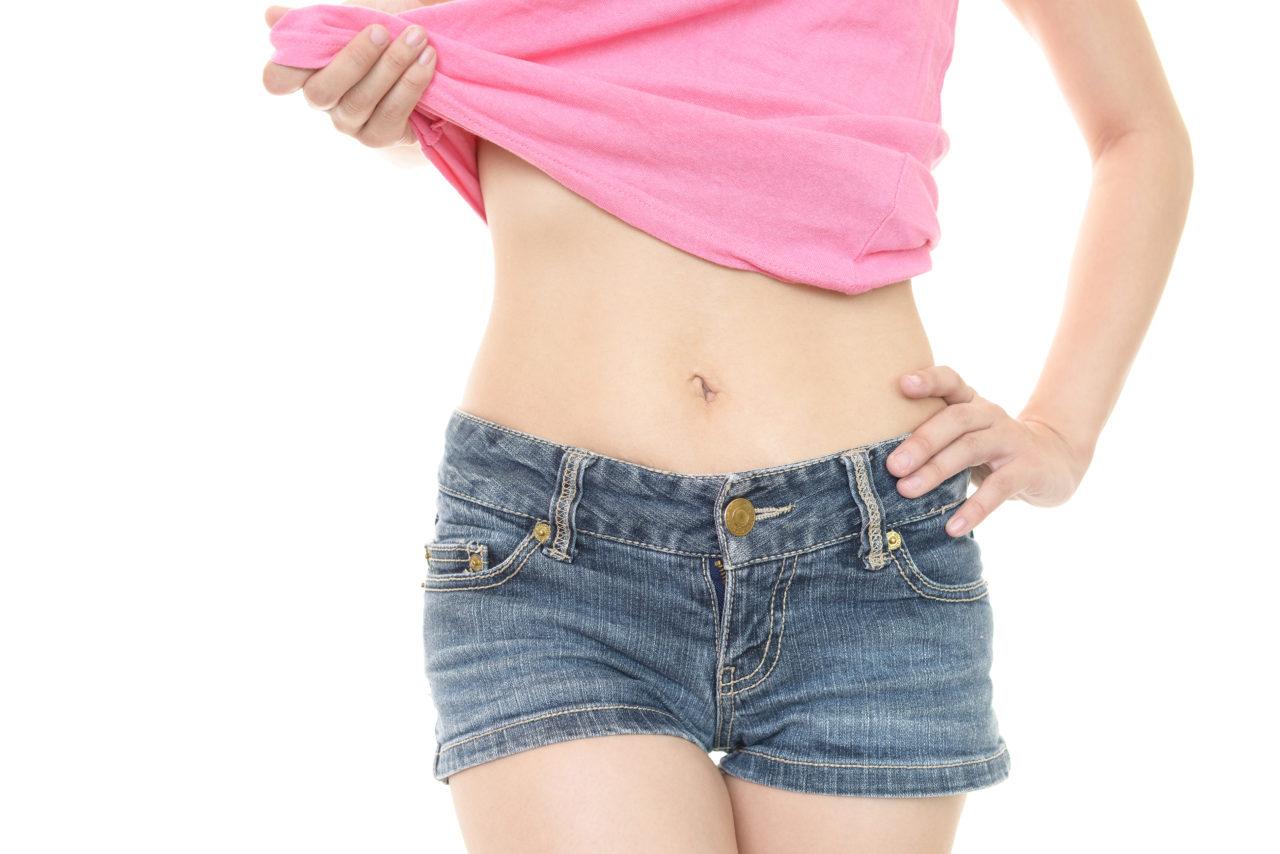 美容体重の体型イメージ