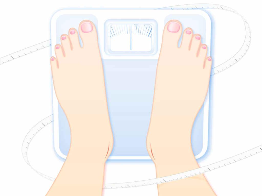 を 測る タイミング 体重