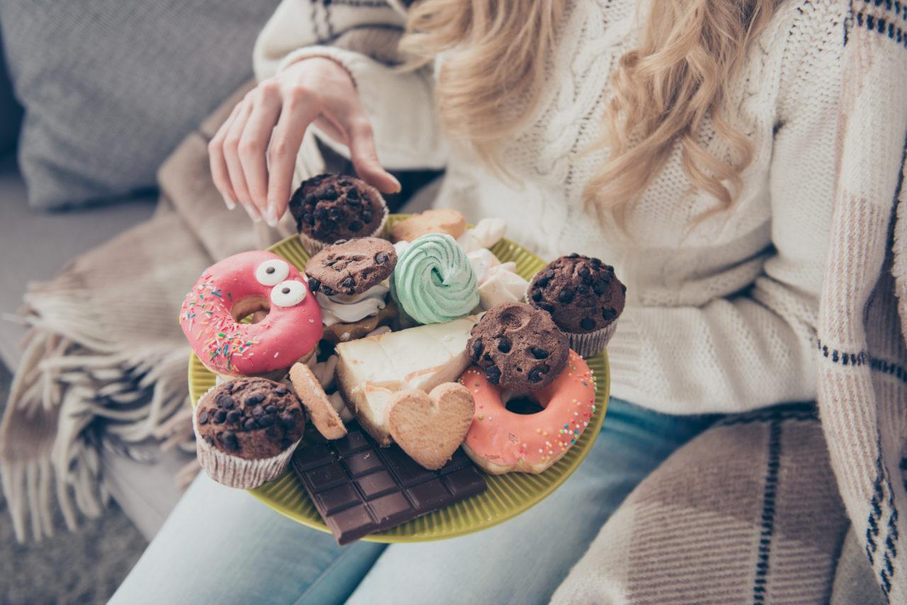甘い物の食べ過ぎ