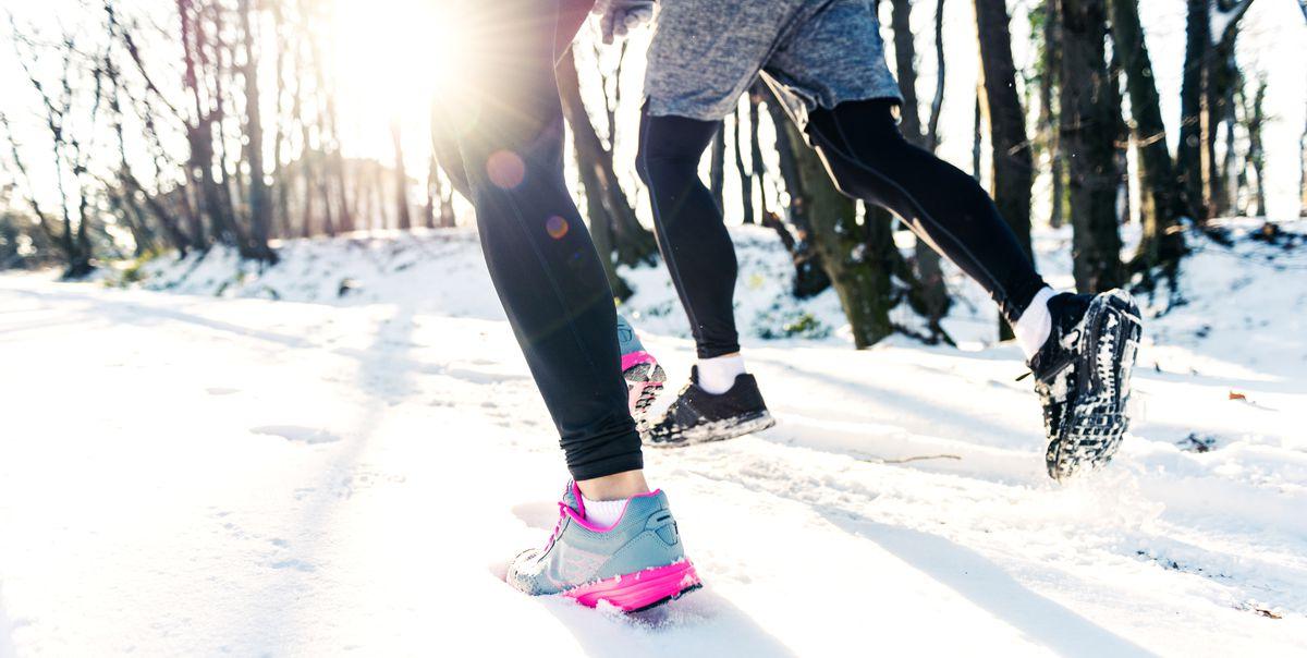 冬のジョギング